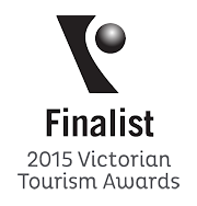 2015 Victorian Tourism Awards Finalist